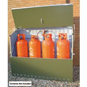 Trimetals Senturion 447 LP Gas Cylinder Store 1.9 x 0.6 x 1.5m