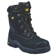 CAT Supremacy Safety Boots Black Size 6