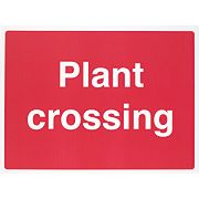 """Plant Crossing"" Sign 450 x 600mm"