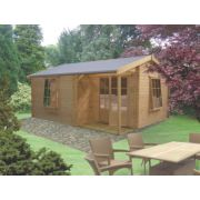 Ringwood Log Cabin 3.6 x 4.2 x 2.5m