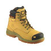 Cat Spiro Safety Boots Honey Size 9