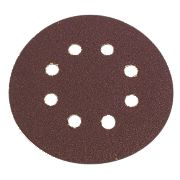 Flexovit Sanding Discs Punched 115mm 50 Grit Pack of 6