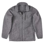 SHERPA JACKET GREY XL