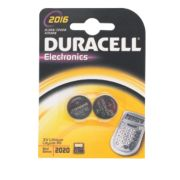 Duracell 2016 Li-Ion Coin Cell Batteries Pack of 2