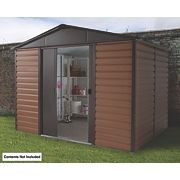 Yardmaster Sliding Door Apex Shed 10 x 8 x 8