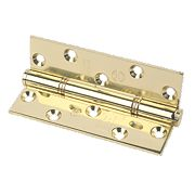 Eclipse Grade 14 Insignia Thrust Bearing Hinge Electro Brass 127 x 76mm Pk2