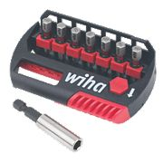 Wiha MaxxTor Bit & Holder Set 8 Pieces