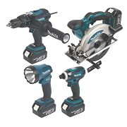 Makita DLX4002 18V Li-Ion LXT 4 Piece Kit