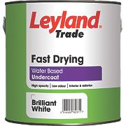 Leyland Trade Fast Drying Undercoat Brilliant White 2.5Ltr