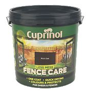 Cuprinol Less Mess Fence Care Rich Oak 9Ltr