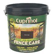 Cuprinol Less Mess Fence Care Rich Oak 9Ltr