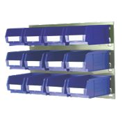 Wall Mountable Storage Kit 2 - 12 x TC2 Bins