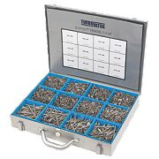 Turbo Ultra Woodscrews Expert Trade Case Double-Self-Countersunk Pk2800