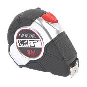 Forge Steel Heavy Duty Tape Measure 8m