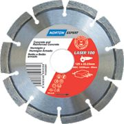 Norton Expert Laser Diamond Blade 125 x 22.23mm