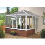 E4 uPVC Edwardian Double-Glazed Conservatory 3.13 x 2.46 x 3.12mm
