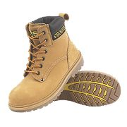 STERLING STEEL SAFETY BOOT HONEY SIZE 7