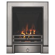 Focal Point Soho Chrome Rotary Control Gas Inset Multiflue Fire