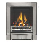 Focal Point Soho Chrome Slide Control Gas Inset Full Depth Fire