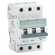 Havells 10A Triple-Pole Type C MCB