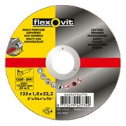 Flexovit Cutting Discs 125 x 1 x 22.23mm Pack of 5