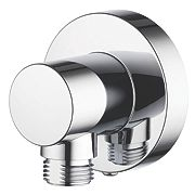 Aqualisa Shower Hose Wall Outlet Chrome