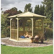 Grange Regis Dressed Gazebo Kit B 3.41 x 3.41 x 3.2m