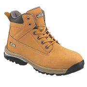 JCB Workmax Safety Boots Honey Size 6