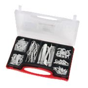 Fischer Electrical Fixing Kit Pack of 140