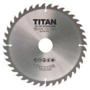 Titan TCT Circular Saw Blade 40T 180 x 16/20/30mm