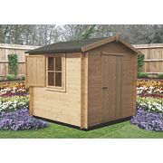 Camelot 1 Log Cabin 2 x 2 x 2.2m