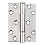 Smith and Locke Thrust Hinge Polished Stainless Steel 102 x 76mm Pk2
