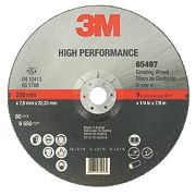 3M High Performance Metal Grinding Disc 230 x 7 x 22.23mm Bore