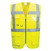 "Portwest Hi-Vis Thermal Waistcoat Yellow Medium 41"" Chest"