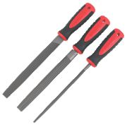 "Forge Steel 8"" File Set 3Pcs"
