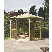 Grange Regis Dressed Gazebo Kit C 3.41 x 3.41 x 3.2m