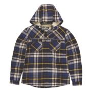 Site Alpine Borg-Lined Hoodie Blue Check X Large 45-47