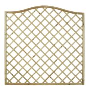 Forest Hamburg Open-Lattice Fence Panels 1.8 x 1.8m Pack of 8