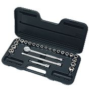 "Socket Set 1/2"" 24 Pieces"