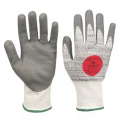 Marigold Industrial P5000 Cut 5 PU Nitrile Coated Gloves Grey Large