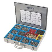 Turbo Ultra Carpenters Trade Case Double Self-Countersunk Pack of 2000