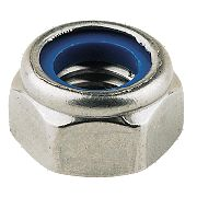 Nylon Lock Nuts A4 Stainless Steel M10 Pack of 100