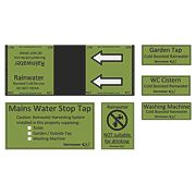 FloPlast StormSaver Identification Labels & Tape