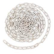 JSP Plastic Barrier Chain 5m x 6mm White
