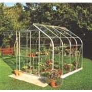 Halls Supreme 86 Aluminium Greenhouse Horticultural Glass 6