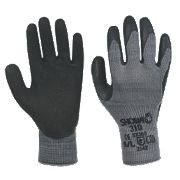Showa 310 Black 310 Original Builders Gloves Black Large