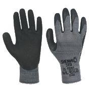 Showa 310 Black 310 Original Builders Gloves Black Large