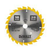 DeWalt DT1207-QZ TCT Circular Saw Blade 165 x 20mm 24T