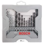 Bosch X-Pro Mixed Drill Bit Set 15Pcs