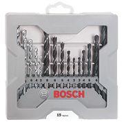 Bosch X-Pro Mixed Drill Bit Set 15Pcs